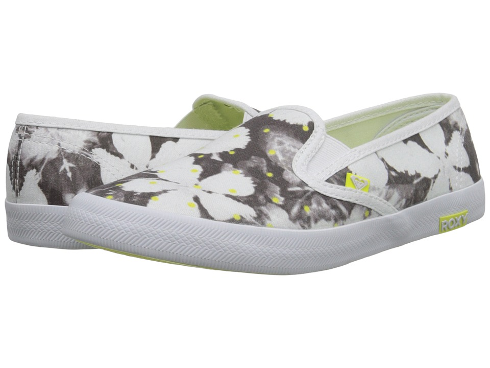 Roxy - Redondo II (Black Print) Women's Slip on Shoes