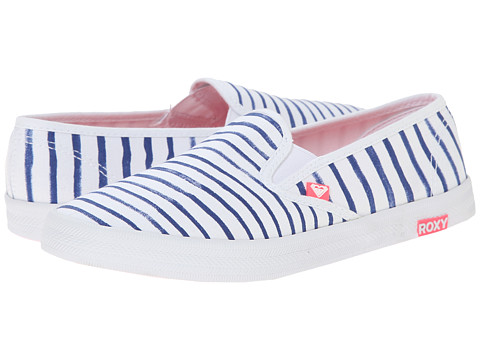 Roxy - Redondo II (Blue Surf) Women's Slip on Shoes