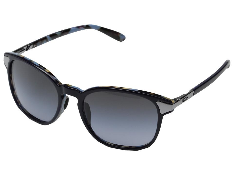Oakley - Ringer (Black Grey Gradient w/ Blue Mosaic) Fashion Sunglasses