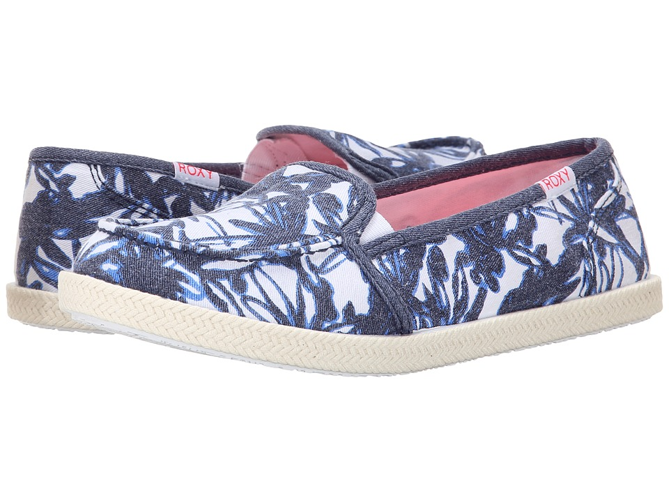Roxy - Lido Rope II (Blue Haze) Women's Slip on Shoes