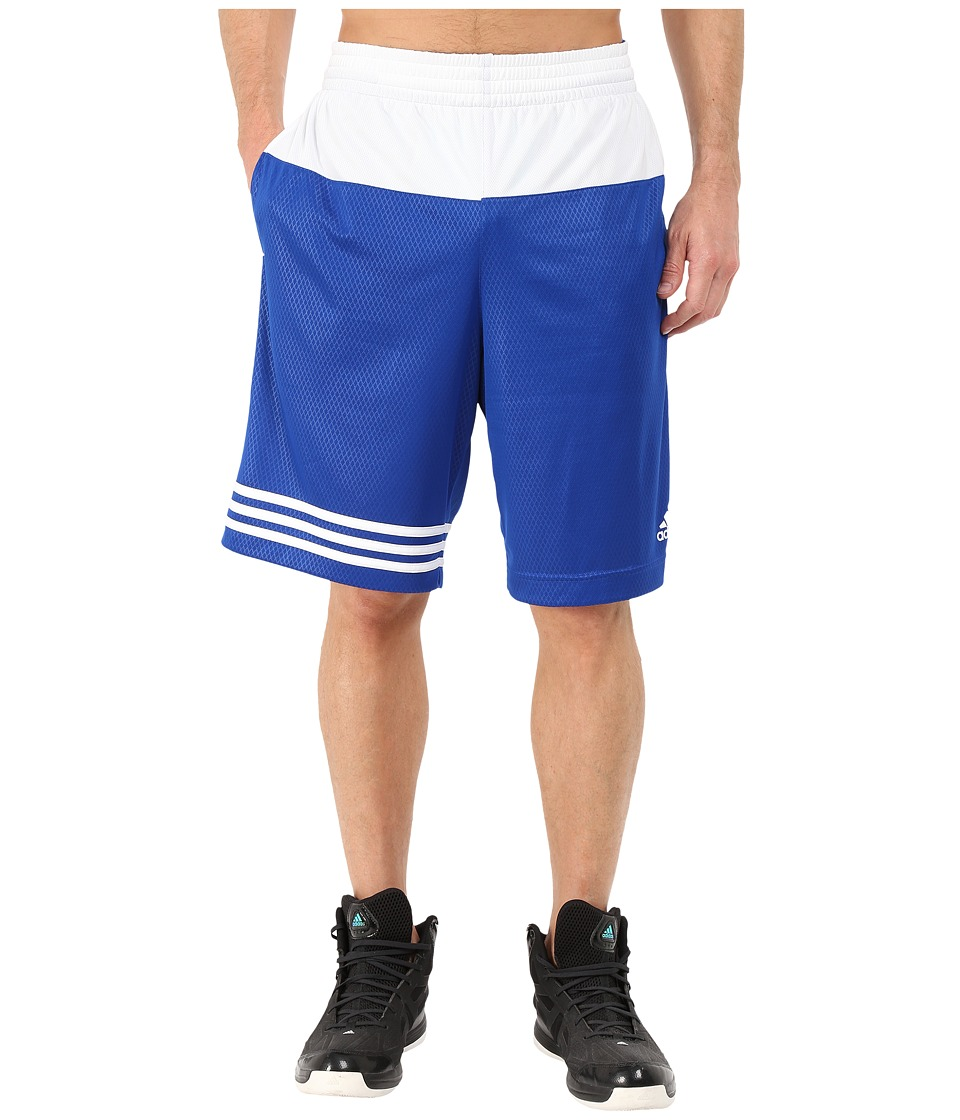 adidas - Crazy Skills Short (Collegiate Royal/White/White) Men's Shorts