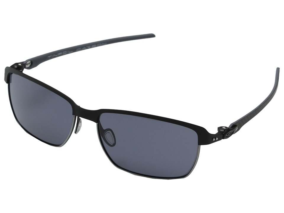 Oakley - Tinfoil Carbon (Grey w/ Matte Black) Fashion Sunglasses