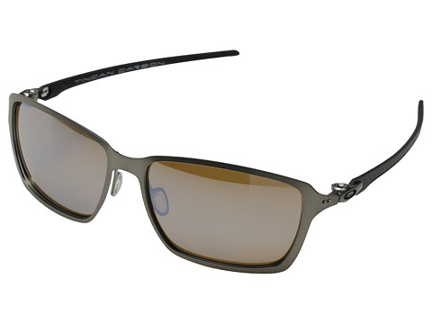 Oakley - Tincan Carbon (Titanium Iridium Polarized w/ Titanium) Fashion Sunglasses