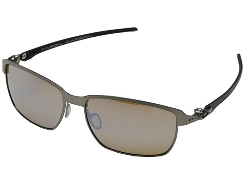 Oakley - Tinfoil Carbon (Titanium Iridium Polarized w/ Titanium) Fashion Sunglasses