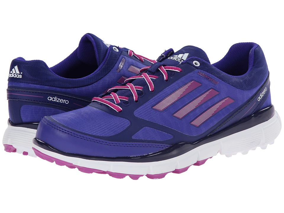 adidas Golf - adiZero Sport III (Night Flash/Amazon Purple/Lucky Pink) Women's Golf Shoes