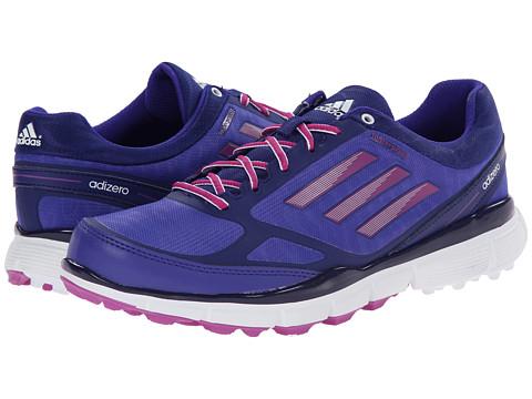 adidas Golf - adiZero Sport III (Night Flash/Amazon Purple/Lucky Pink) Women's Golf Shoes