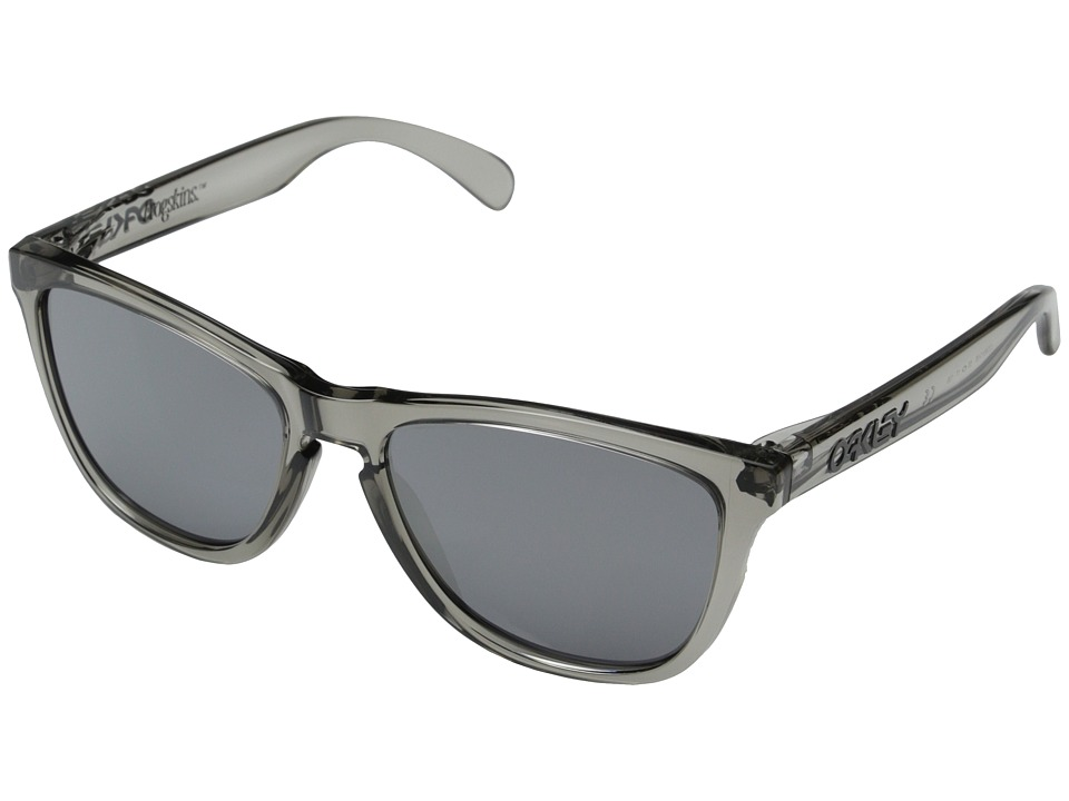 Oakley - Frogskins (Black Iridium w/ Grey Ink) Sport Sunglasses