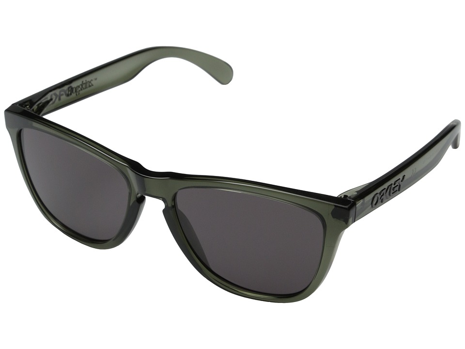 Oakley - Frogskins (Warm Grey w/ Olive Ink) Sport Sunglasses
