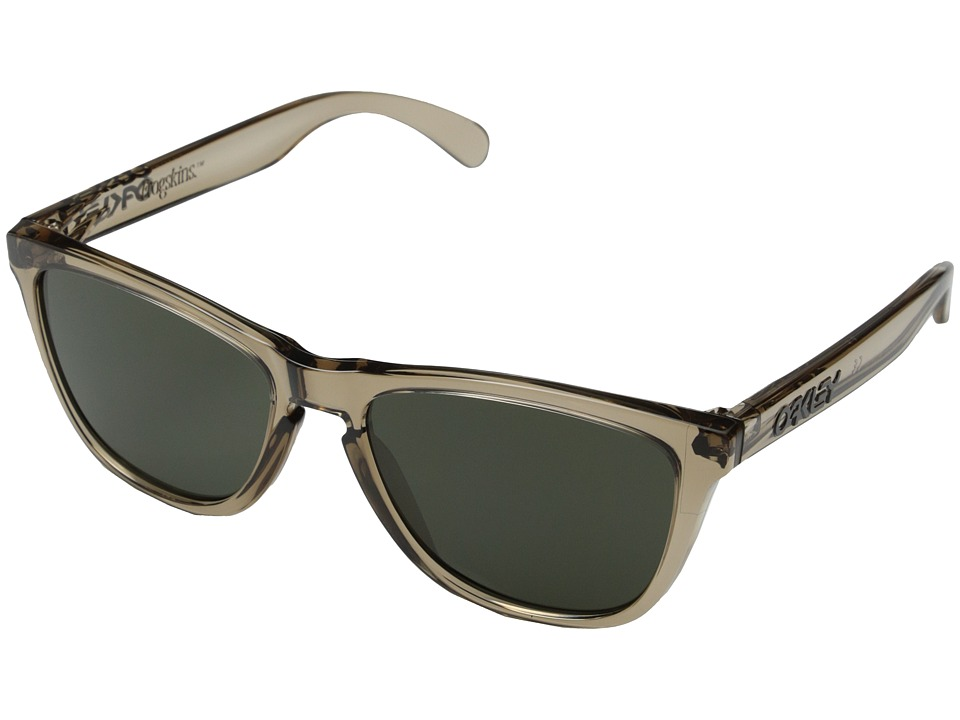 Oakley - Frogskins (Dark Grey w/ Sepia) Sport Sunglasses