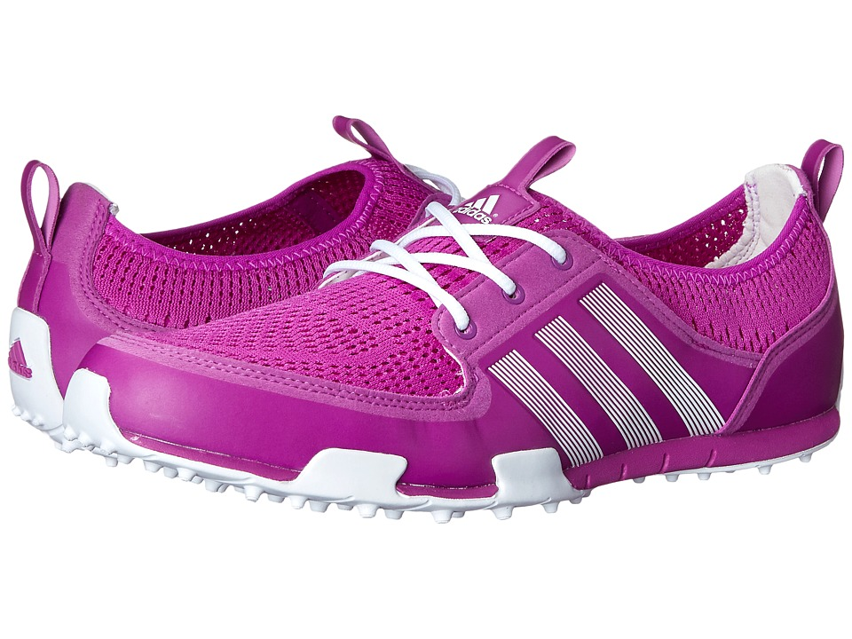 adidas Golf - Climacool Ballerina II (Flash Pink/Running White/Running White) Women's Golf Shoes