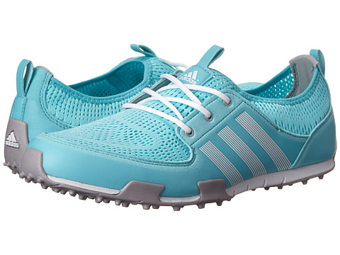 adidas Golf - Climacool Ballerina II (Clear Aqua/Running White/Matte Silver) Women's Golf Shoes