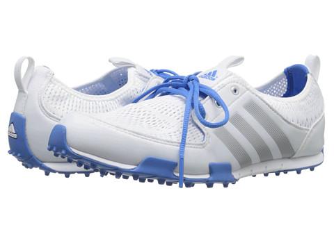adidas Golf - Climacool Ballerina II (Running White/Silver Metallic/Chambray) Women