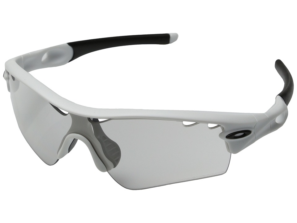 Oakley - Radar (Clear Black Iridium Photo Activated w/ Matte White) Sport Sunglasses
