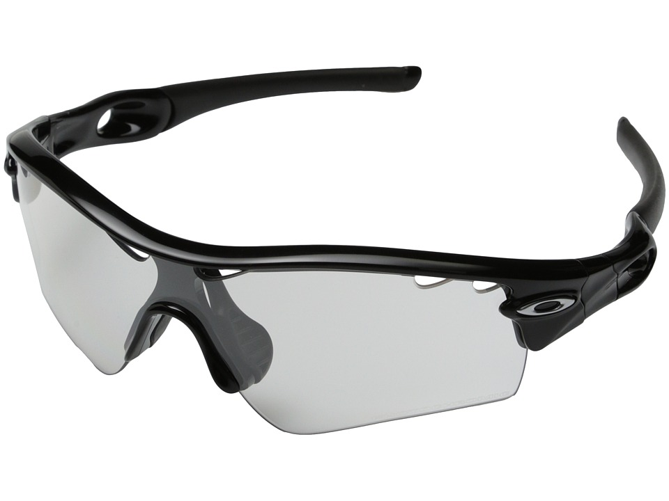 Oakley - Radar (Clear Black Iridium Photo Activated w/ Polished Black) Sport Sunglasses