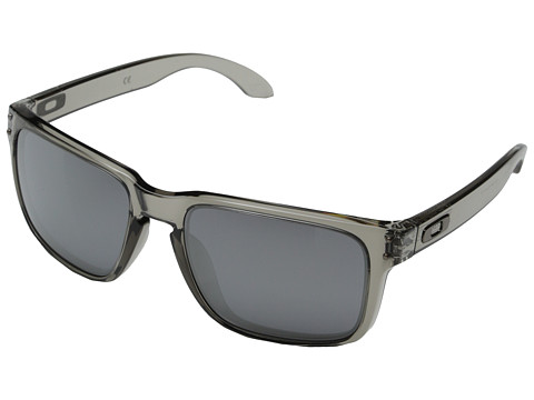 Oakley - Holbrook (Black Iridium w/ Grey) Sport Sunglasses