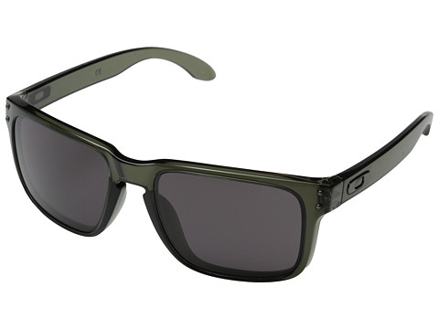 Oakley - Holbrook (Warm Grey w/ Olive) Sport Sunglasses