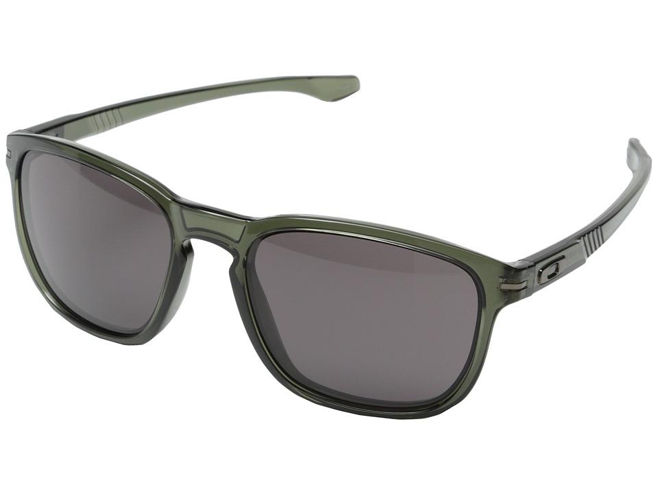 Oakley - Enduro (Warm Grey w/ Olive) Fashion Sunglasses