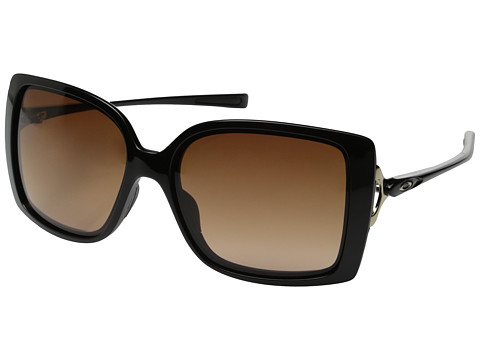 Oakley - Splash (VR50 Brown Gradient w/ Polished Black) Fashion Sunglasses