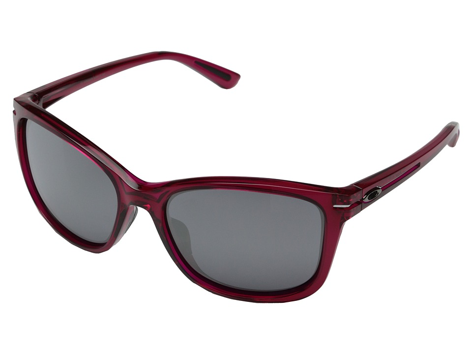 Oakley - Drop-In (Black Iridium w/ Crystal Raspberry Rose) Fashion Sunglasses