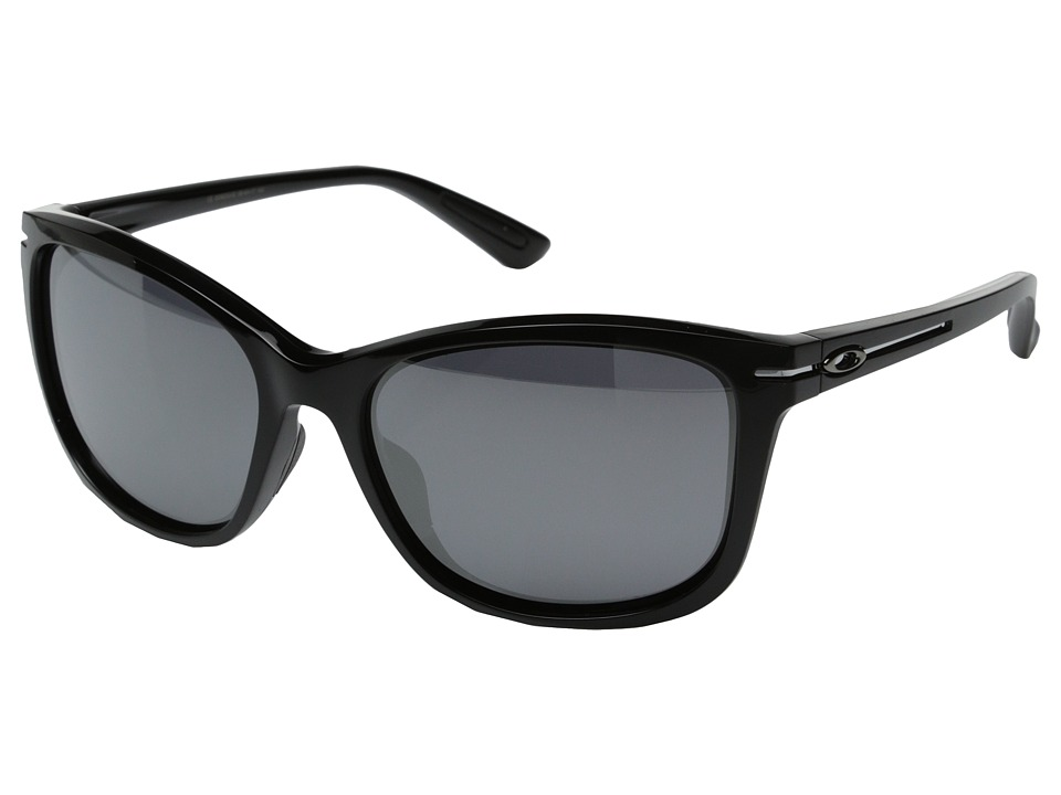 Oakley - Drop-In (Black Iridium w/ Polished Black) Fashion Sunglasses