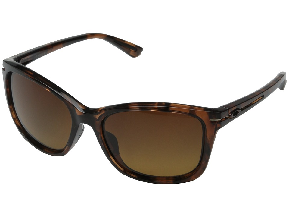 Oakley - Drop-In (Brown Gradient Polarized w/ Tortoise) Fashion Sunglasses