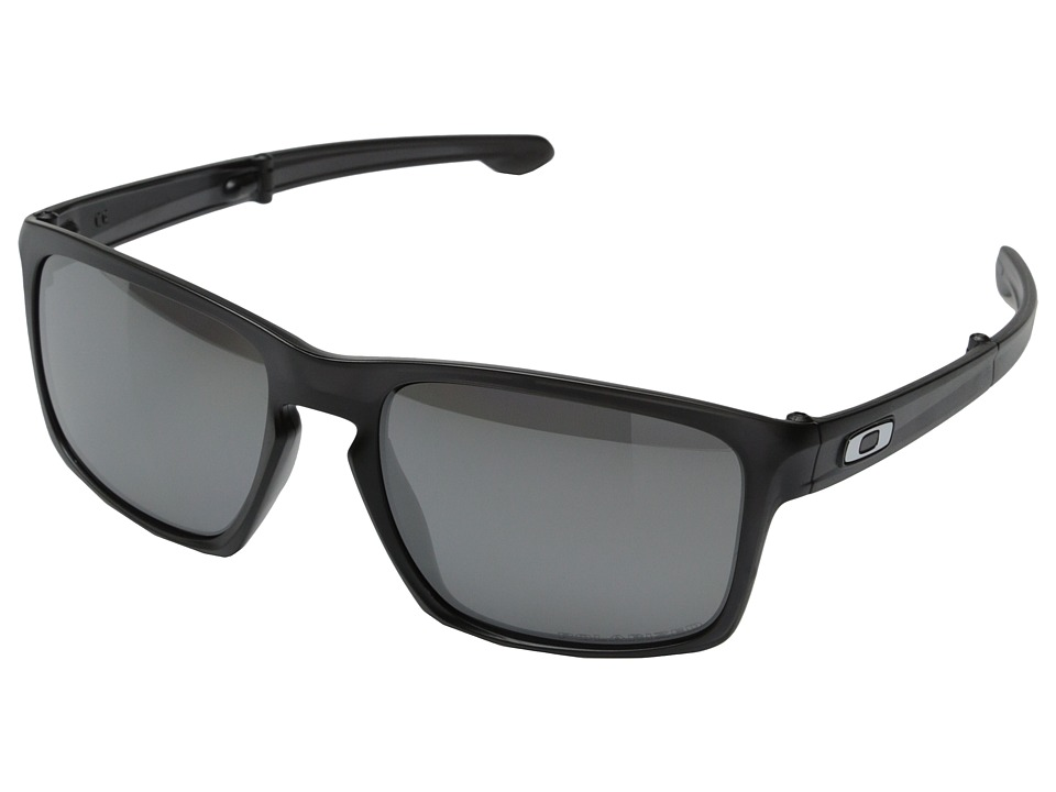 Oakley - Sliver F (Black Iridium Polarized w/ Matte Black) Fashion Sunglasses