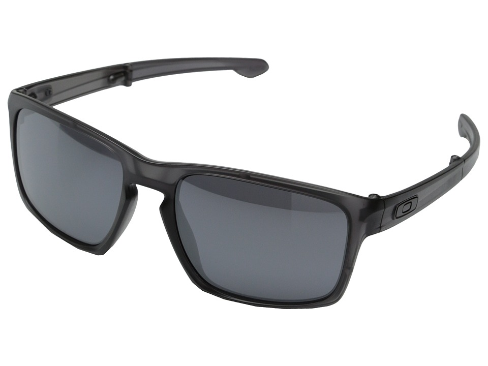 Oakley - Sliver F (Black Iridium w/ Matte Grey Ink) Fashion Sunglasses
