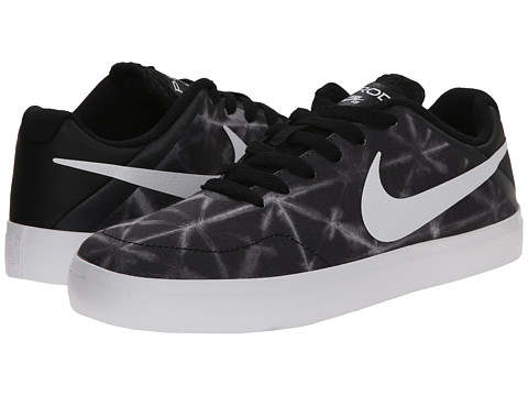 Nike SB Kids - Paul Rodriguez CTD LR Canvas (Big Kid) (Black/Anthracite/White) Boys Shoes