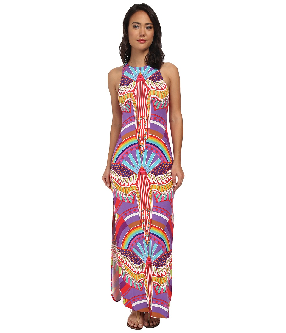 Mara Hoffman - Maxi Tank Dress (Rainbow Bird Lilac) Women's Dress