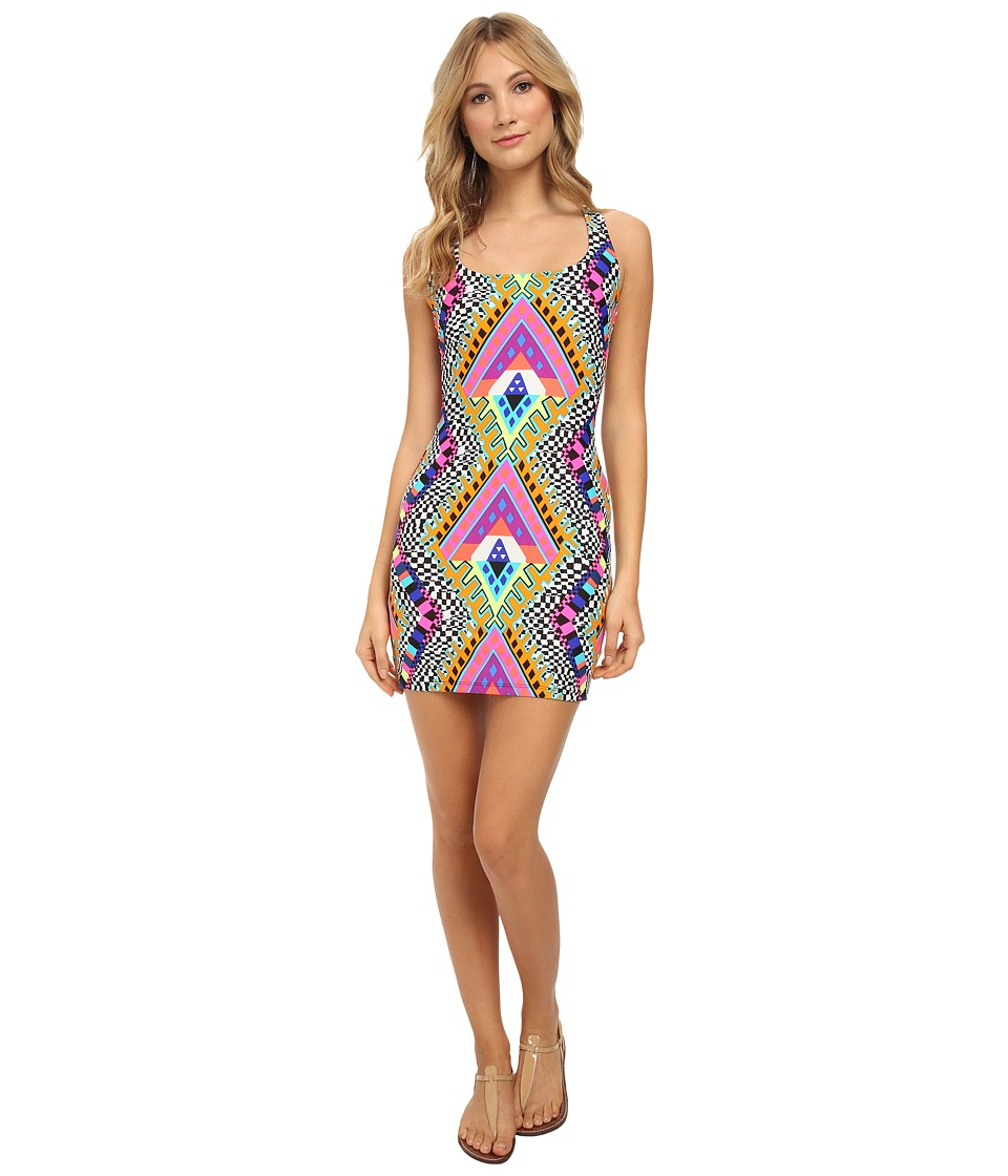 Mara Hoffman - Racerback Mini Dress (Horizon White) Women's Dress