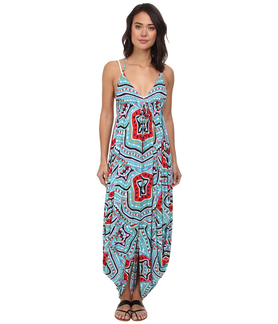 Mara Hoffman - Halter Tie Dress (Estrada Turquoise) Women's Dress