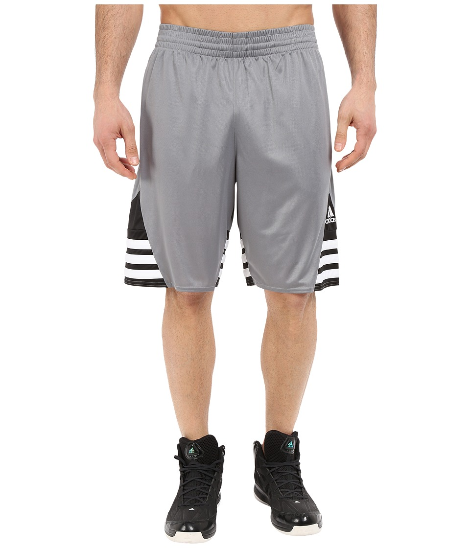 adidas - Superstar 2.0 Short (Grey/Black/White) Men's Shorts