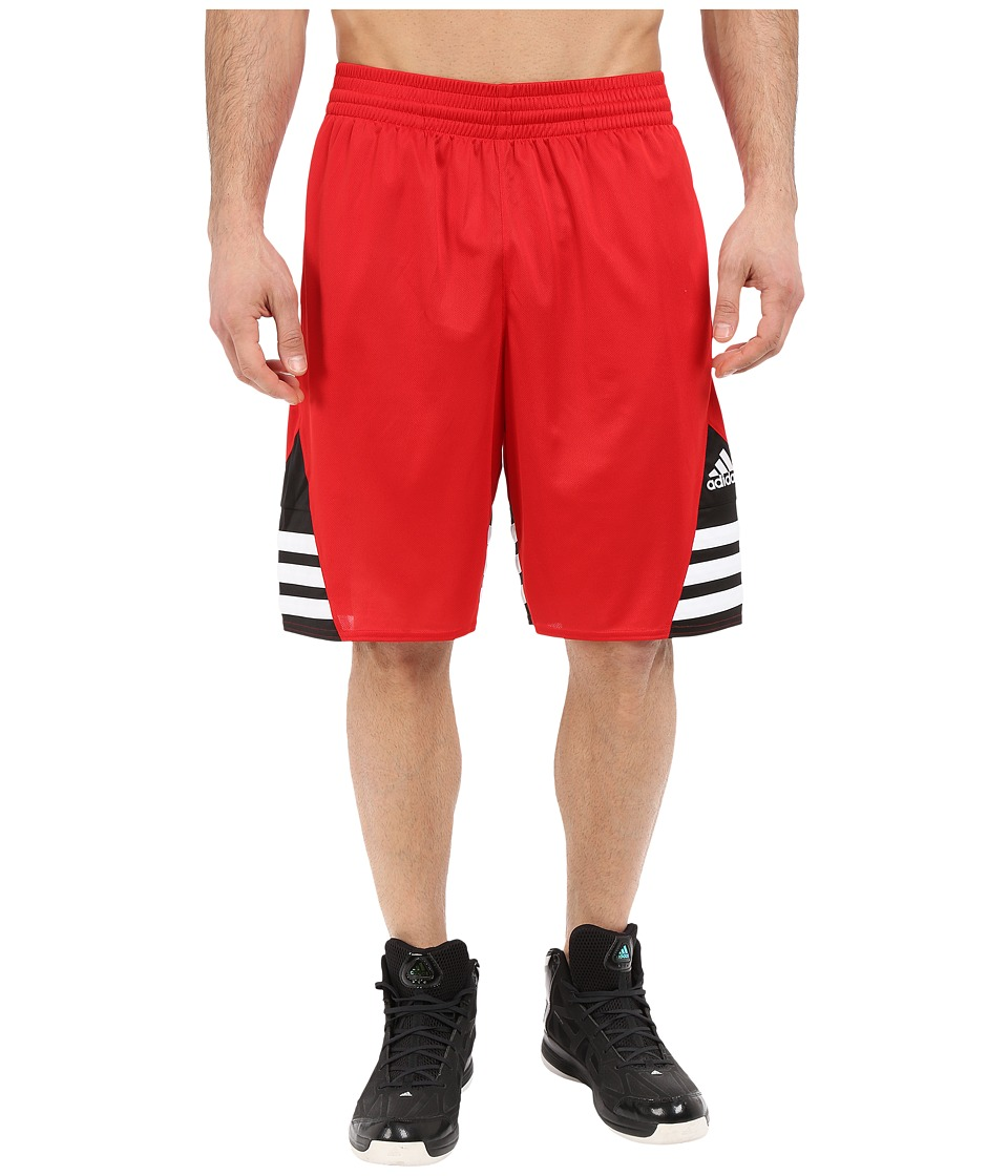 adidas - Superstar 2.0 Short (Scarlet/Black/White) Men's Shorts