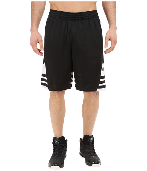 adidas - Superstar 2.0 Short (Black/White/Black) Men's Shorts
