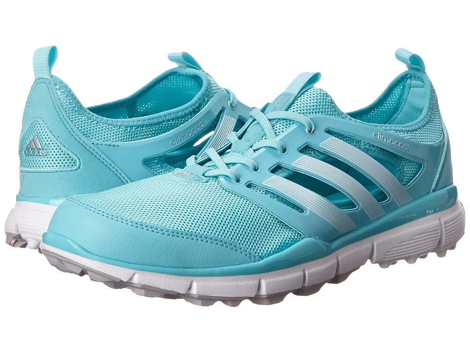 adidas Golf - Climacool II (Clear Aqua/Running White/Matte Silver) Women's Golf Shoes