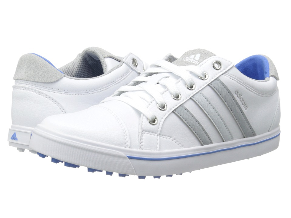 adidas Golf - Adicross IV (White/Clear Onix/Chambray) Women's Golf Shoes