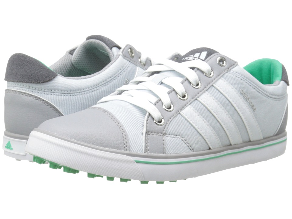 adidas Golf - adiCross IV (Clear Grey/Mid Grey/Bright Green) Women's Golf Shoes