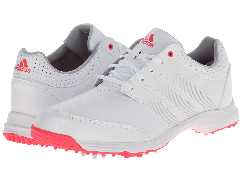 adidas Golf - Response Light (Running White/Silver Metallic/Flash Red) Women's Golf Shoes