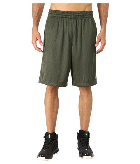 adidas - Triple Up 2.0 Short (Base Green/Base Green/Black) Men's Shorts