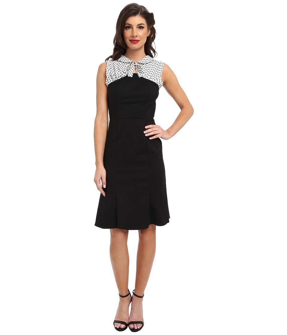 Unique Vintage - Peggy Wiggle Dress (Black) Women