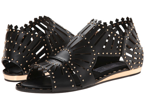 IVY KIRZHNER - Belize (Black) Women's Flat Shoes