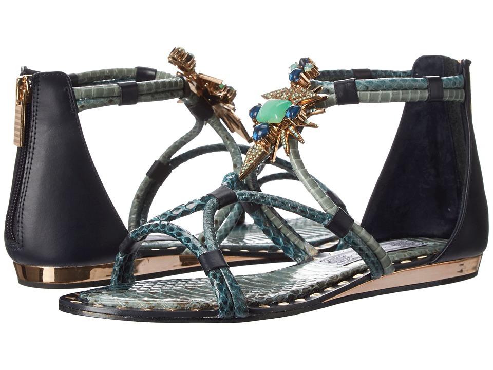 IVY KIRZHNER - Basil (Pacific Blue/Twilight) Women's Shoes