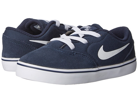 Nike SB Kids - Check (Infant/Toddler) (Obsidian/Black/White) Boy