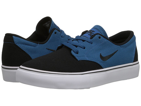 Nike SB Kids - SB Clutch (Big Kid) (Brigade Blue/White/Black) Boy