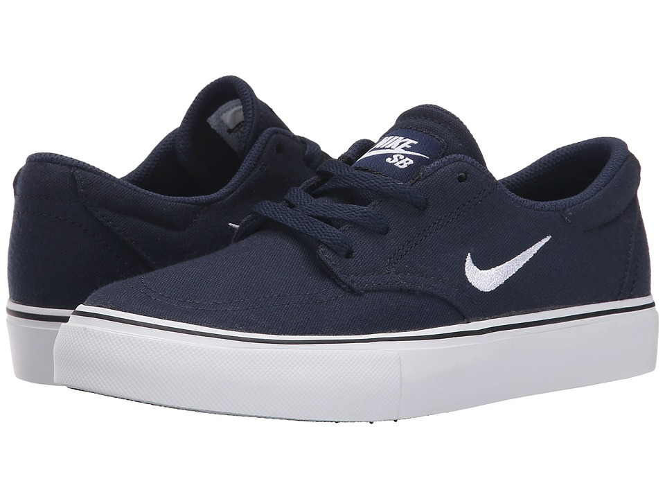 Nike SB Kids - SB Clutch (Big Kid) (Obsidian/White) Boy