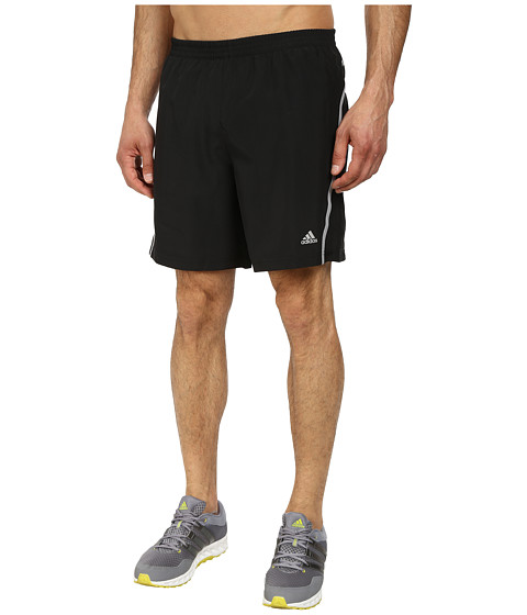 adidas - Money 7 Running Short (Black/Light Onix) Men