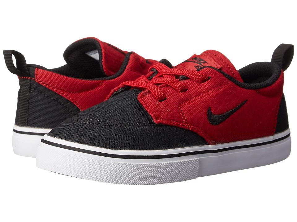 Nike SB Kids - SB Clutch (Infant/Toddler) (Gym Red/White/Black) Boy