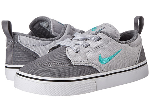 Nike SB Kids - SB Clutch (Infant/Toddler) (Cool Grey/Wolf Grey/White/Light Retro) Boy's Shoes