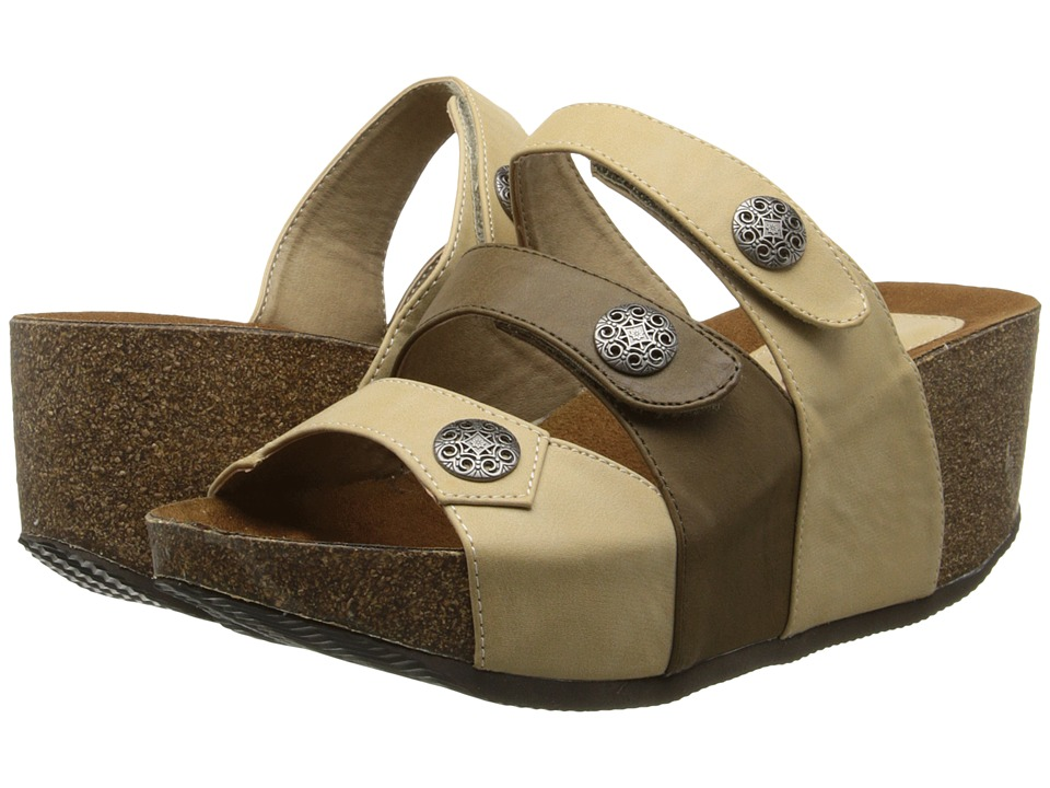 Fitzwell - Sabrina (Natural) Women's Sandals