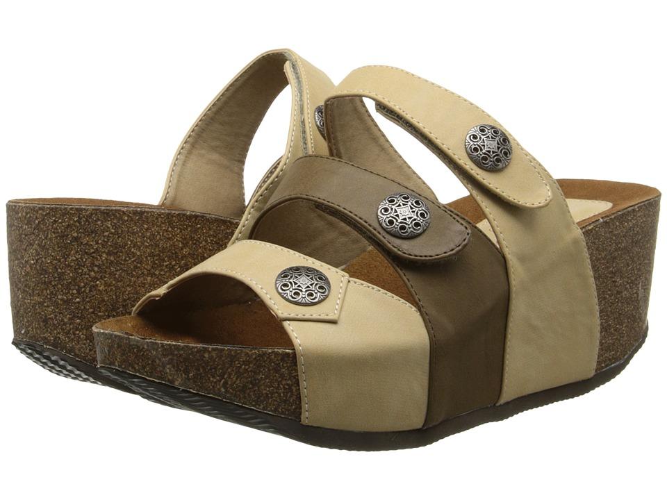 Fitzwell - Sabrina (Natural) Women's Sandals